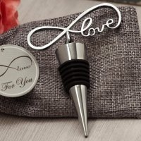 Endless Love Chrome Bottle Stopper