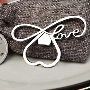 Endless Love Chrome Bottle Opener image