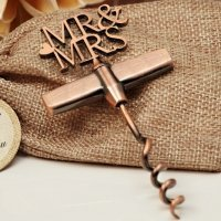 Copper Elegance Mr and Mrs Wine Opener
