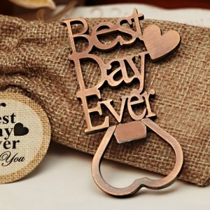 Our Best Day Ever Copper Bottle Opener image