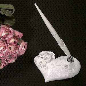 Crystal Calla Lily Pen Set image