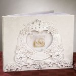 Wedding Coach Cinderella Guest Book