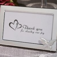 Graceful Butterfly Photo Frame Wedding Favors