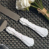 Happily Ever After Fairytale Wedding Cake & Knife Set