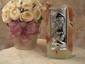 Art Deco Curved Arch Religious Icon Favors image