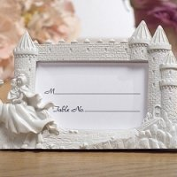Knight in Shining Armor Castle Place Card Frame
