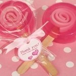 Sweet Treats Pink Lollipop Soap Favors