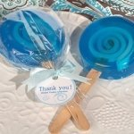 Sweet Treats Blue Lollipop Soap Favors