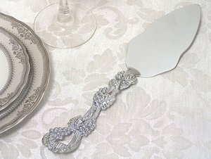 Grapevine Gift Boxed Cake Server Favor image