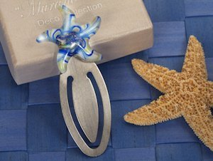Art Deco Swirls Starfish Bookmark image