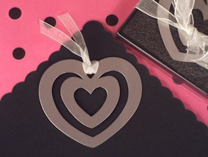 Heart Within Heart Bookmark Favor image