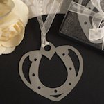 Love and Luck Horseshoe Bookmark Favors