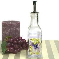 Grapes Design Mini Olive Oil Bottle Wedding Favors