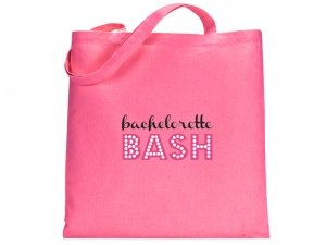 Bachelorette Bash Design Pink Tote Bag image