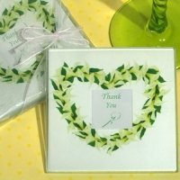 Elegant Calla Lily Photo Coasters