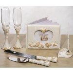 Beach Themed Wedding Reception Accessory Set