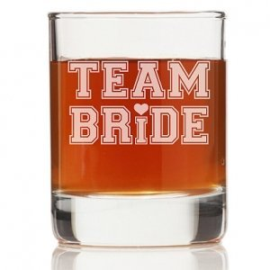 Team Bride Tall Rock Glasses (Set of 4) image