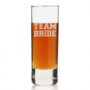Team Bride Tall Tall Shot Glass (Set of 4) image