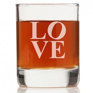Modern Love Rock Glasses (Set of 4) image