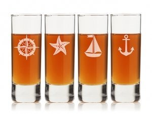 Nautical Collection Tall Shot Glass (Set of 4) image