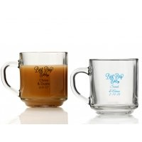 Best Day Ever Personalized Glass Coffee Mugs