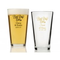 Best Day Ever Personalized 16 oz Pint Glass