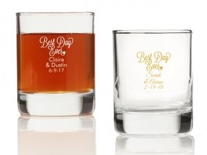 Best Day Ever Personalized Votives or Shot Glass image