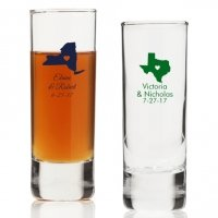 State Love Personalized Tall Shot Glass