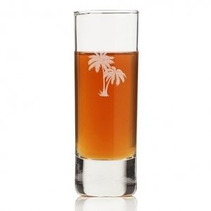 Palm Tree Mason Tall Shot Glass (Set of 4) image