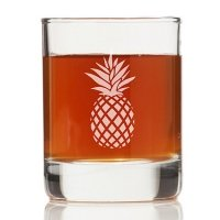 Pineapple Rock Glasses (Set of 4)