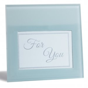 DIY Glass Photo Frame Favors image