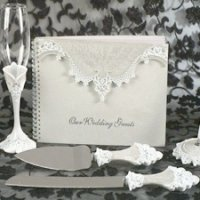 Elegant Lace Reception Set