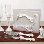 Calla Lily Wedding Set