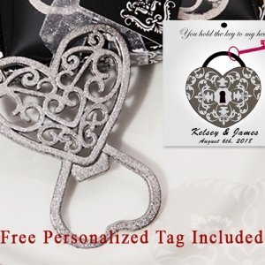 Personalized Classic Ornate Heart Bottle Opener image