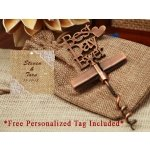 Personalized Our Best Day Ever Copper Wine Opener