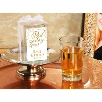 Best Day Ever Personalized Box Shot Glass Favors