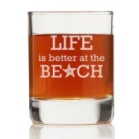 Life is Better At The Beach Shot Glass (Set of 4)