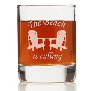 The Beach Is Calling Shot Glass (Set of 4) image