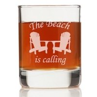The Beach Is Calling Shot Glass (Set of 4)