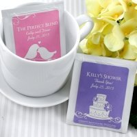 Personalized Tea Bag Favors (Many Designs)