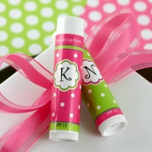 Lots of Dots Monogrammed Lip Balm Favors image