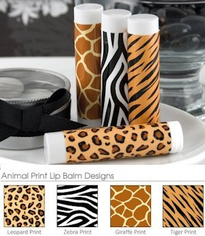 Animal Print Lip Balm Favors image