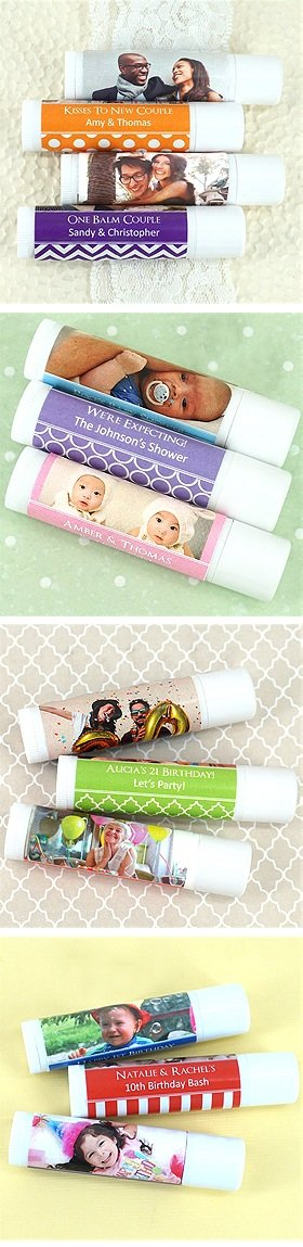Photo Balm Lip Balm (White Tube) image