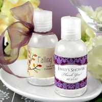 Personalized Wedding Hand Sanitizer Favors