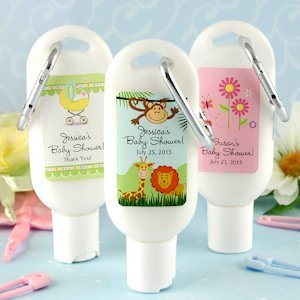 Personalized Baby Designs Sunscreen Favors image