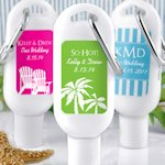 Personalized Sunscreens - Useful Wedding Favors