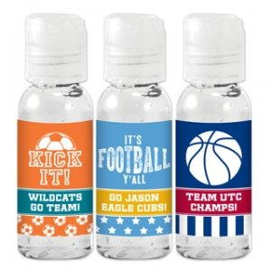 Sports Themed Hand Sanitizer Favors image