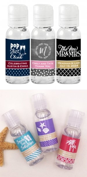 Personalized Hand Sanitizer Favors image