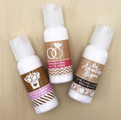 Personalized Hand Lotion Favors image