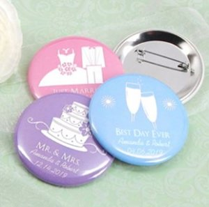 Personalized Buttons-Silhouette Collection (2.25in) image
